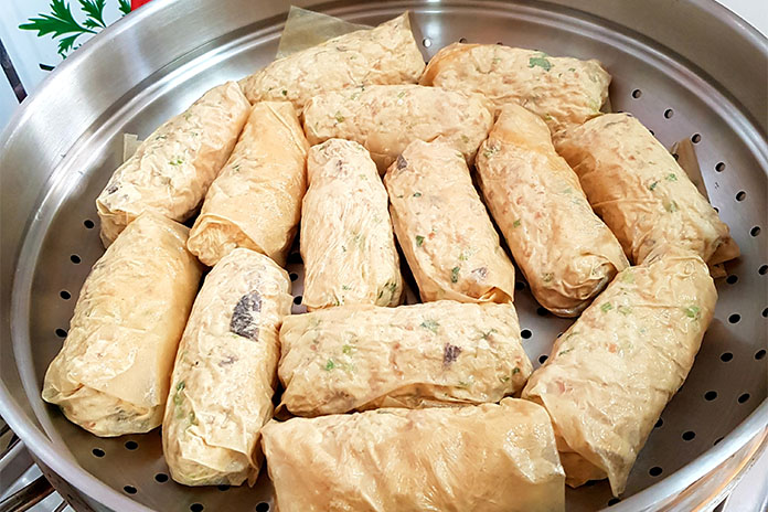 beancurd rolls