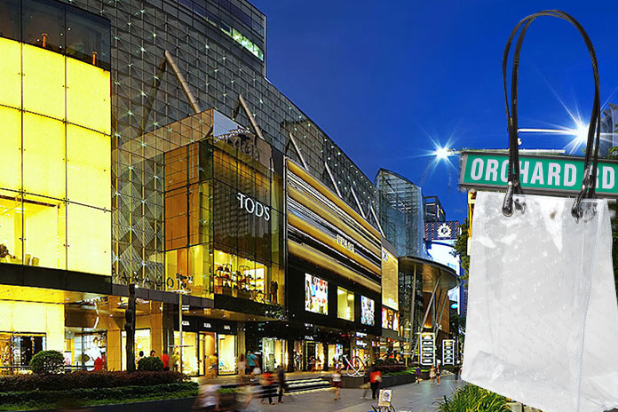 Orchard Rd shopping
