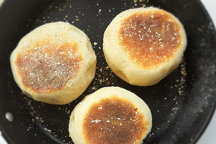 fried muffins