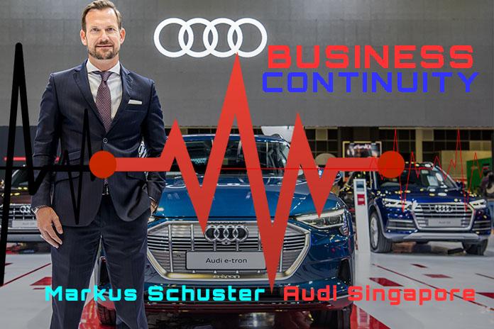 Markus Schuster Audi Singapore