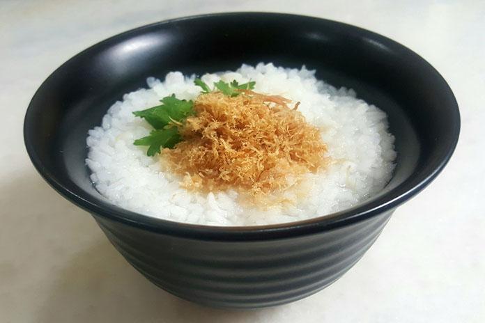 pork floss porridge