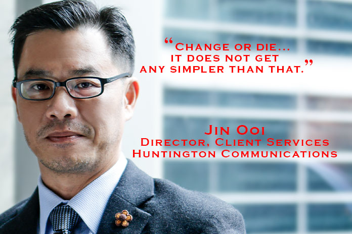 Jin Ooi, Huntington Communications