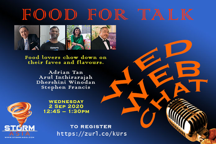 WED WEB CHAT food