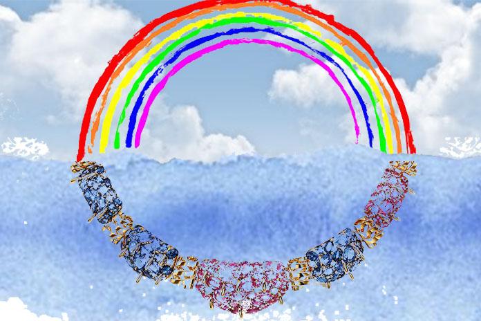 rainbow lead