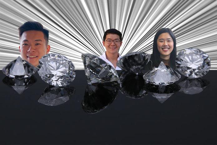 SMU graduates, Ng Ying Zhong, Vivian Poo and Tan Guan Wei came up with luna.