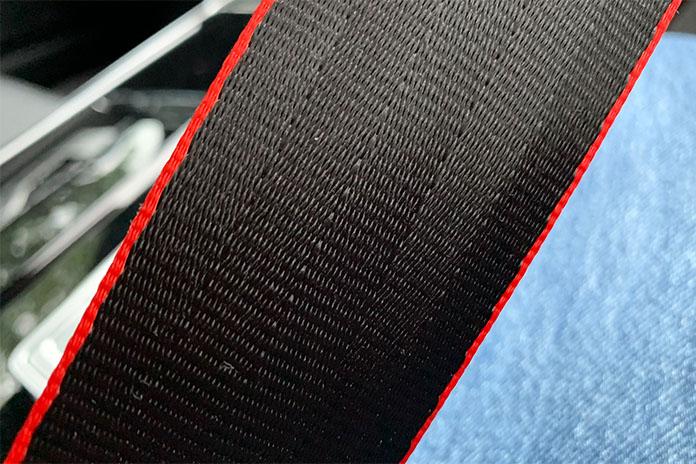 Audi RS 7 Sportback seat belt